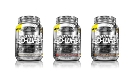 Muscletech Platinum 100% Iso Whey Supplements (26 Servings)