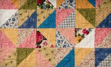 C$20 for C$40 or C$40 for C$80 Worth of Quilting Fabrics and Classes at Cottage Quilting