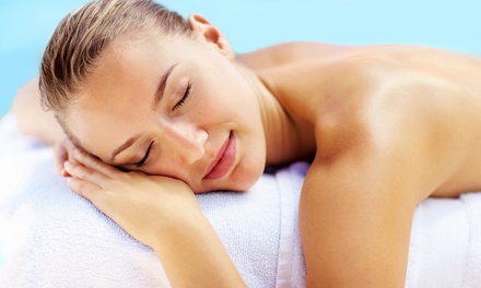 $229 for Mother's Day Massage, Facial, Nailcare, and Take-Home Products at Me Spa ($387 Value)