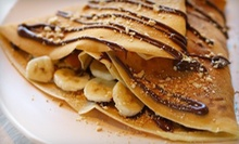 Two Savoury Crepes and One Dessert Crepe, or $15 for $30 Worth of Crepes at De La Crepe