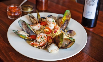 Contemporary Italian Dinner Cuisine and Drinks for Two or Four at Olivetto Ristorante (38% Off)
