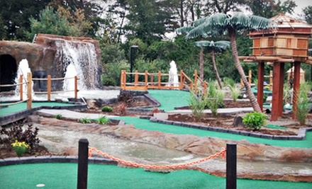 Mini Golf and Ice Cream for Two or Four or Laser Tag for Two at Merrimack Valley Pavilion (Up to 53% Off)