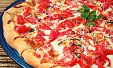 One or Two Pizzas with Bread Sticks at Muncheez Pizzeria (Up to 54% Off)