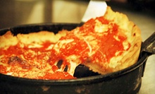 Deep-Dish-Pizza Walking Tour for One or Two from Slice of Chicago Pizza Tours (Up to 53% Off)