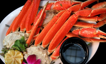 Seafood Specialties from Kasey's Seafood (Half Off). Two Options Available.