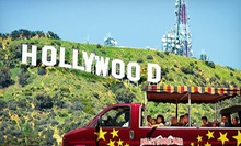 Star Homes Tour, Hollywood Tour, and Hollywood Sign Tour for Two, Four, or Six from Hollywoodland Tours (Up to 58% Off)