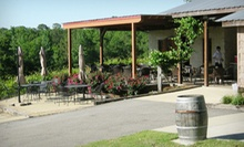 $20 for a Wine Tasting for Two with Cheese, Chocolate, and Keepsake Glasses at Ozan Vineyard & Cellars ($40 Value)
