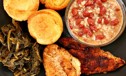 One or Two Groupons, Each Good for $20 Worth of Cajun Cuisine at Big Easy Cafe (Up to 45% Off)