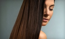 Dream Hair Keratin or Agave Oil Hair-Smoothing Treatments from Kelly at KSTORMS Hair Design (Up to 51% Off)