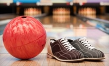 $11 for Bowling with Shoe Rental for Two at Buffaloe Lanes Family Bowling Centers (Up to $24 Value)