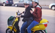 Three-Hour Scooter Rental for One or Two from Green Choice Moto (Up to 58% Off)