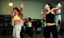 5 or 10 Dance and Fitness Classes at Nuevolution Dance Studio (Up to 54% Off)