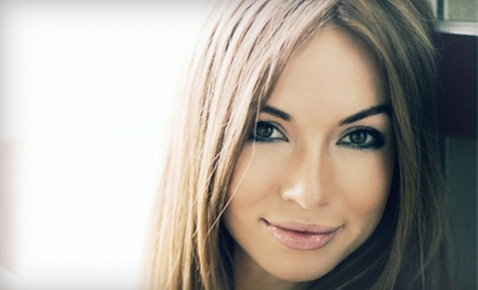 Haircut with Option for Single-Process Color or Partial Highlights from Loann at Cherry Blossom Salon (Up to 58% Off)