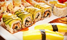 $10 for $20 Worth of Japanese Dinner Fare at Saké Japanese Steakhouse & Sushi Bar