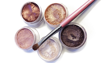 groupon daily deal - Colorevolution Warm and Shimmery Mineral Eyeshadow Collection