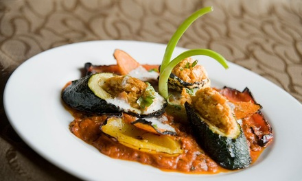 Indian Dinner for Two or Four at Bombay Club (Up to 50% Off). Two Options Available.