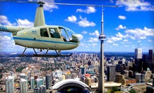 15-Kilometre Aerial Tour of Toronto with a Digital Photo for One or Three from Toronto Heli Tours (Up to 53% Off)