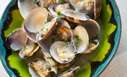Clam and Mussel Dinner for Two or Four at Little New Orleans Kitchen & Oyster Bar (Up to 53% Off)