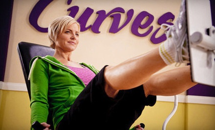 One- or Three-Month Women's Gym Membership at Curves (Up to 73% Off)