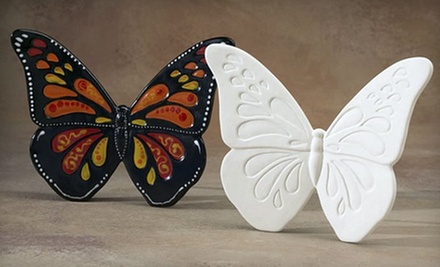 $15 for $30 Worth of Paint-Your-Own-Pottery and Crafts at CeramiCafe