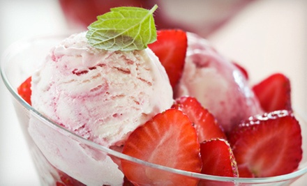 $5 for $10 Worth of Ice Cream or Ice-Cream-Making Class at Mister &amp; Miss Einstein (Half Off)