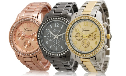 Geneva Women's Boyfriend Watch