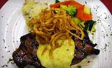 American Cuisine for Dinner for Two or Four on Tuesday or Wednesday at Michael V's (Half Off)