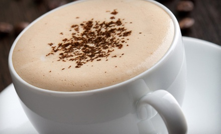 10 Coffee Drinks, or $8 for $16 Worth of Café Food and Drinks for Two at The Foyer