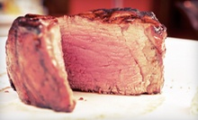 $25 for $50 Worth of Steak and Seafood at Cellars Restaurant & Lounge