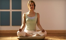 5 or 10 90-Minute Yoga Classes with One Complimentary 120-Minute Meditation Class at The Ivy House (Up to 64% Off)