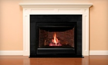 $886 for $1,772 Worth of Gas-Fireplace and Venting Systems at Fireside Hearth &amp; Home