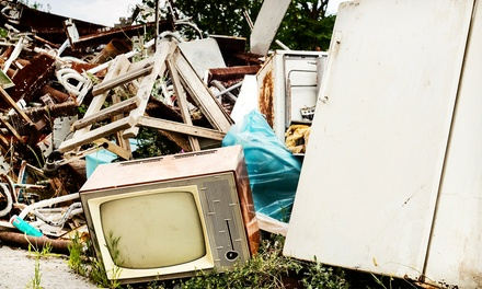 Removal of 100 or 200 Cubic Feet of Junk from Canada Junk Removal (Up to 55% Off)