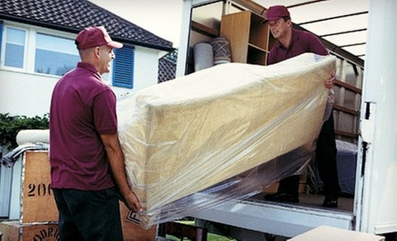 Two or Four Hours of Moving Services 1st Class Moving (Up to 53% Off)