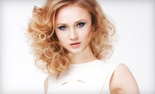 Haircut Package with Option for Single-Process Color, Partial Highlights, or Scalp Massage at Salon 4316 (Up to 68% Off)