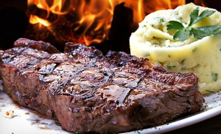 $15 for $30 Worth of Local Cuisine and Seafood for Two or More at The V Eatery & Brew House