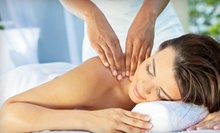 Swedish or Deep-Tissue Massages and Body Scrubs at OhLaLa Massage (Up to 71% Off). Four Options Available.