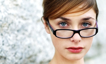 $54 for a Comprehensive Eye Exam with $200 Toward Prescription Glasses at Pearle Vision ($289 Value)