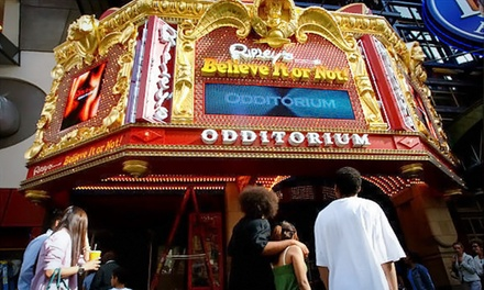Visit to Ripley's Believe It or Not! Times Square with Ice Cream and Store Credit for Two or Four (Up to 41% Off)
