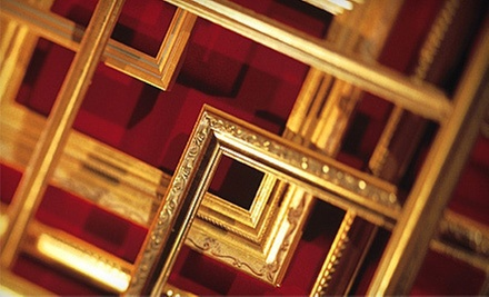 Custom Framing at Galleria Art & Frame (65% Off). Two Options Available.