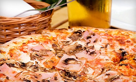 $17 for Pizza and Beer at Misty Nights Bar & Grill ($34 Value)