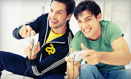 Gaming Time, Four-Month Membership, or Game Console Cleaning at PLAYlive (Up to 60% Off)