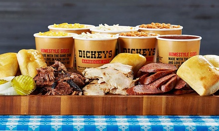 $7 for $16 Worth of Pit-Smoked Barbecue and Homestyle Sides at Dickey's Barbecue Pit