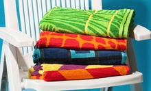 $14.99 for a Tripoli Beach Towel Two-Pack ($59.98 List Price). 6 Designs Available. Free Returns.