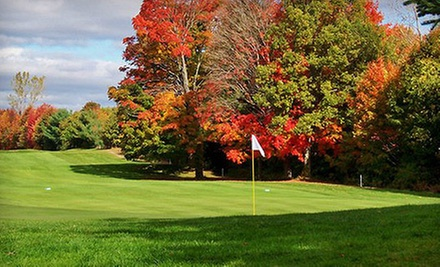 18-Hole Round of Golf for Two or Four with Cart Rental at Pequabuck Golf Club (Up to 53% Off)