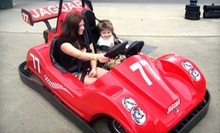 Go-Kart or Indy-Kart Package with Arcade Tokens and Gator Feeding for Two at Kissimmee Go-Karts (Up to 75% Off)