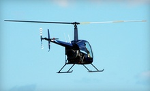 $179 for a One-Hour Private Helicopter-Piloting Lesson with a Logbook and Magazine Subscription at Louis Fly Academy ($310 Value)