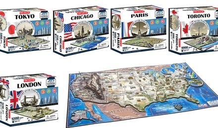 4D Cityscape Puzzle
