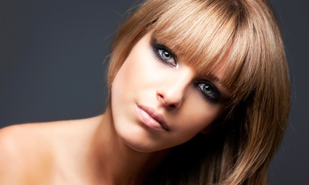 Haircut and Conditioning Treatment with Optional Partial or Full Highlights at The Hairitage Salon (Up to 64% Off)