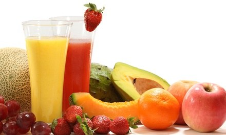 One- or Three-Day Juice Cleanse at Juice Barre (Up to 52% Off)