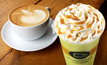 $5 for $10 Worth of Coffee, Tea, and Smoothies at Coffee Beanery